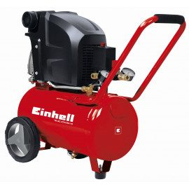 Einhell Kompressor 24 liter / 10 bar - TC-AC 270/24/10