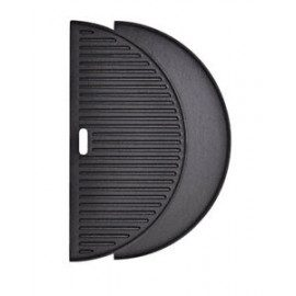 Kamado Joe Classic Joe® - Half Moon Cast Iron Reversible Griddle