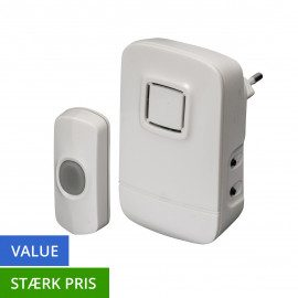 TREND Dørklokke - Value - plug in