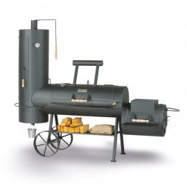 "SmokyFun Big Chief 20"" Offset Smoker"