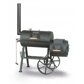 "SmokyFun Tradition 6 16"" Offset Smoker"