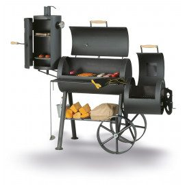 "SmokyFun Tradition 6 Reverse Flow 16"" Offset Smoker"
