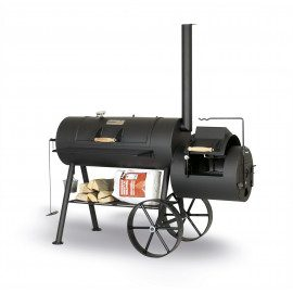 "SmokyFun Party Wagon 6 Reverse Flow 20"" Offset Smoker"
