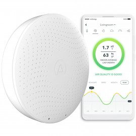 Airthings Wave Plus Luftkvalitet & radonmåler