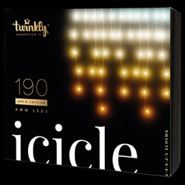 Twinkly Smart Istapper 190 LED - Warm White