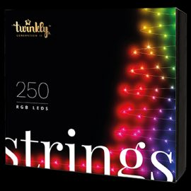 Twinkly String Smart Lyskæde 250 LED - Version 2.0 - 2019 Udgave