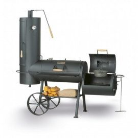 Smoky Fun Big Chef Offset Smoker og grill