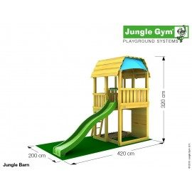 Jungle Gym - Jungle Barn Komplet