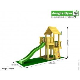 Jungle Gym - Jungle Cubby Komplet