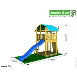 Jungle Gym - Jungle Fort Komplet
