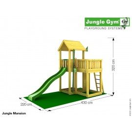 Jungle Gym - Jungle Mansion Komplet