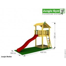 Jungle Gym - Jungle Shelter Komplet