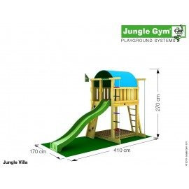 Jungle Gym - Jungle Villa Komplet