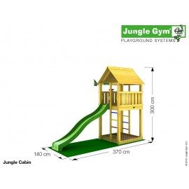 Jungle Gym - Jungle Cabin-komplet
