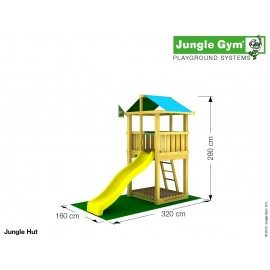 Jungle Gym - Jungle Lodge Komplet