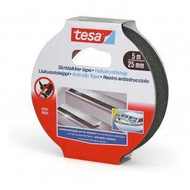 Tesa Tape Skridsikker Sort - 5mx25mm