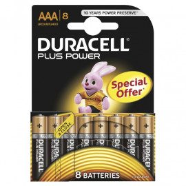 Duracell Plus Power AAA - 8pk. - Batteri
