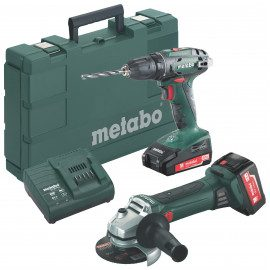 Metabo Combo 2.4.3 Bs18+w18 2x2,0