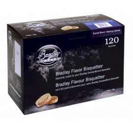 Bradley Special Blend Bisquettes 120 stk.