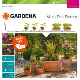 Gardena Start Set Micro drip Blomsterpotter Medium - 13001-20