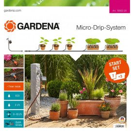 Gardena Start Set Micro drip Urtepotter Medium m/comp. - 13002-20
