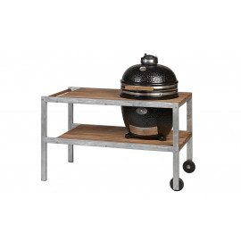 Monolith Kamado Grill Classic Med Bord - Sort