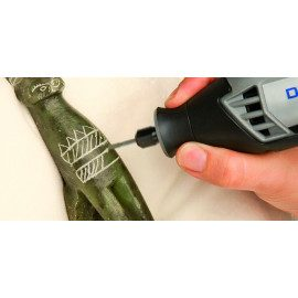 Dremel Diamantstift 7122ja 2,4mm skaft 2,4mm 2 stk