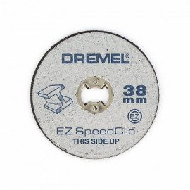 Dremel EZ SpeedClic metalskæreskiver, 456jc ø38mm 5 stk