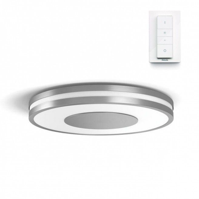 k b philips hue connected being plafond aluminium god pris her. Black Bedroom Furniture Sets. Home Design Ideas