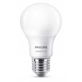 Philips LED 9,5W E27 Lyskilde SceneSwitch