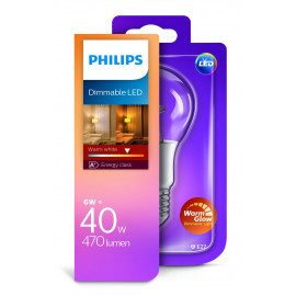 Philips LED 6W E27 Lyskilde VV