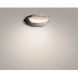 Philips Hotstone væglampe LED krom 2x2.5W