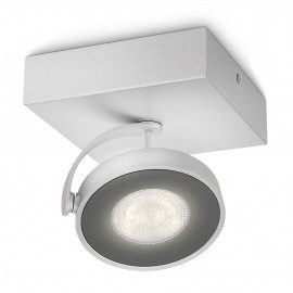 Philips Clockwork Single Spot Led Aluminium 1x5