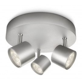 Philips Star Plate/spiral Led Aluminium 3x4w Sel