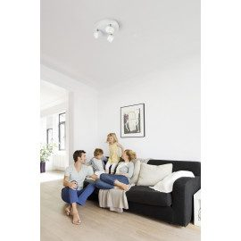 Philips Star Plate/spiral Led Hvid 3x4w