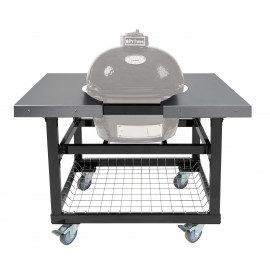 Primo Grill Vogn with Basket w/SS Sideborde til Oval Junior 200