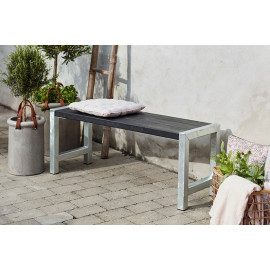 Plus Cafe-bænk - 185560-15 Sort