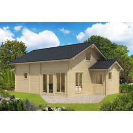 Ceylon Weekend hytte - 76 m²