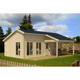 Eufrat Weekend hytte - 35,37 m²