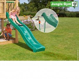 Jungle Gym Rutschebane Mørkegrøn 2,20 Meter - Nyhed