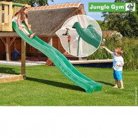 Jungle Gym Rutschebane Mørkegrøn 2,65 Meter - Nyhed