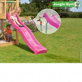 Jungle Gym Rutschebane Violet 2,20 Meter