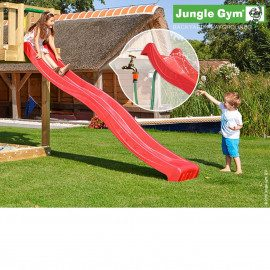 Jungle Gym Rutschebane Rød 2,65 Meter