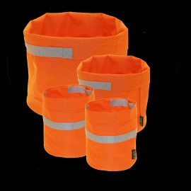 Potteskjuler Pakke Orange Med 2x21, 1x28 & 1x39cm