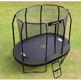 Jumpking Trampolin Oval Black - 350 x 244 cm