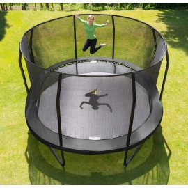 Jumpking Trampolin Oval Black - 520 x 425 cm