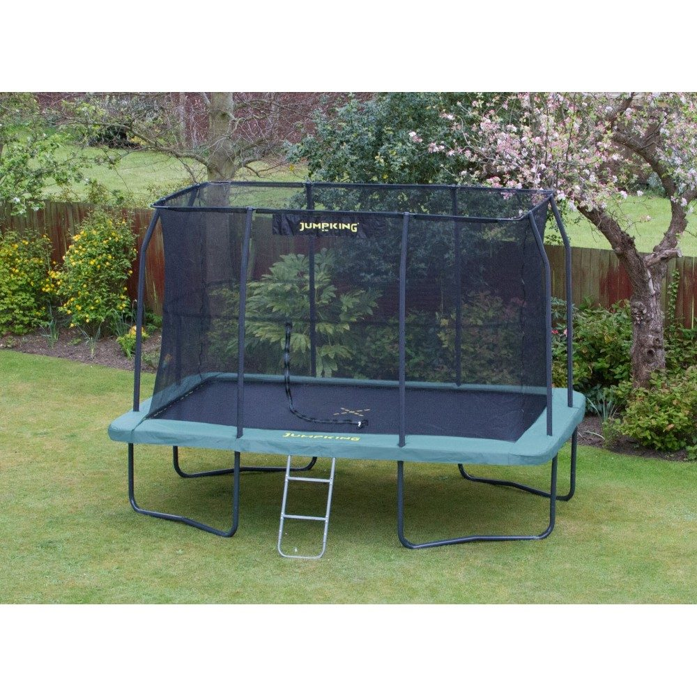 k b jumpking trampolin rektangul r 366 x 244 cm pris og tilbud her. Black Bedroom Furniture Sets. Home Design Ideas