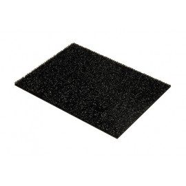 Clean Carpet Finnturf 669010 - Sort - 16mmx45x60cm
