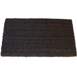 Clean Carpet Kokosmåtte 759012 - Sort - 18mmx40x70cm