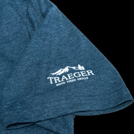 Traeger T-shirt, blå - I`D SMOKE THAT